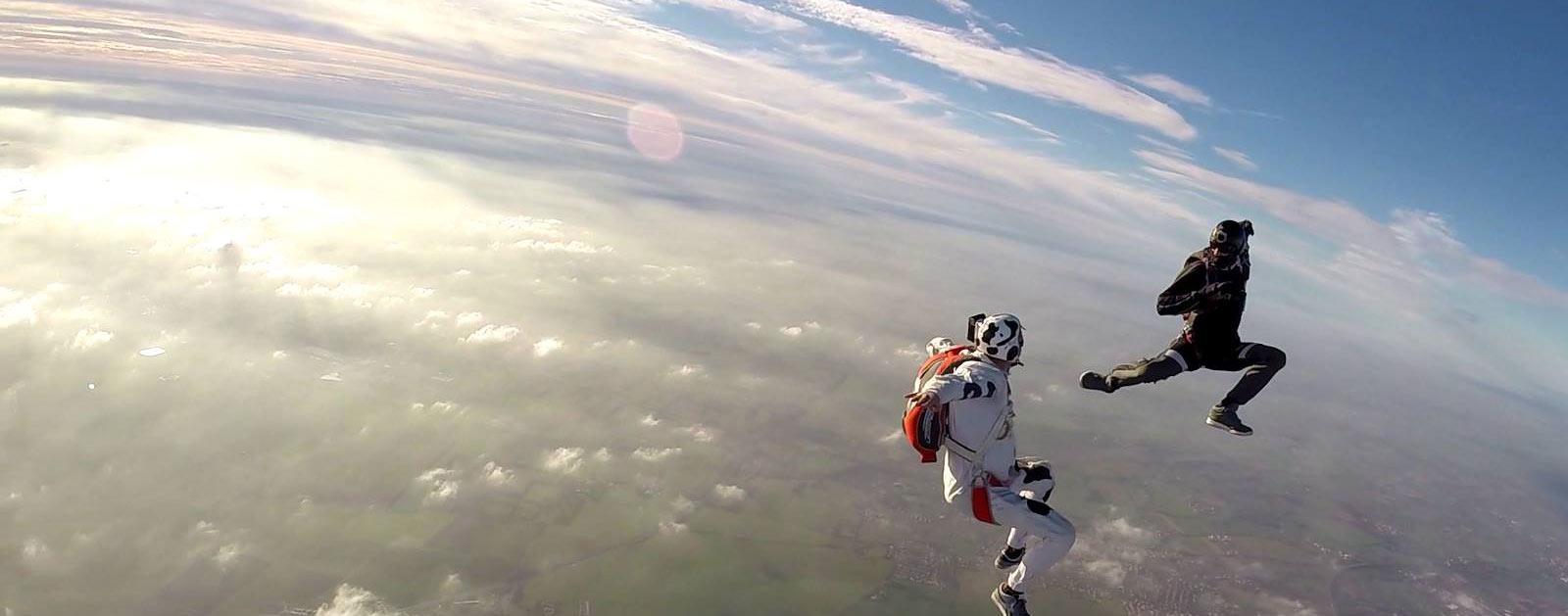 parachutisme la roche sur yon